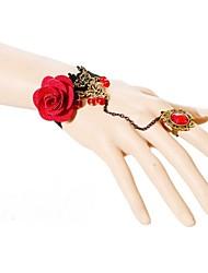 Vintage Fabric Lace Bracelet