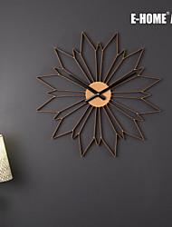 Inovador Moderno/Contemporâneo Relógio de parede , Outros Metal 50*50*3CM(20inch*20inch*1inch)*1PC
