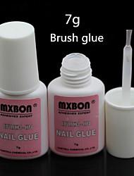 1pcs mxbo chiodo colla per unghie prodotti smalto unghie appiccicosi, testina colla