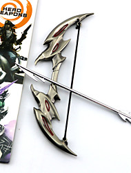 Weapon Inspired by LOL Cosplay Anime/ Video Games Cosplay Accessories Weapon Silver Alloy Male / Female