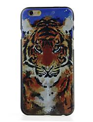 grande teste padrão do tigre caso difícil para iphone 6 / 6s