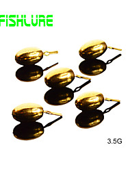 Accessori di pesca Per la pesca Dorato Metallo - AfishlurePesca di mare / Pesca a mosca / Pesca a mulinello / Pesca a ghiaccio / Spinning