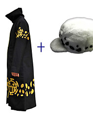 Inspired by One Piece Trafalgar Law Cosplay Costumes Sets (2Pcs)