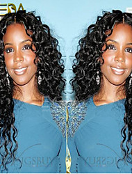 Human Hair Lace Wigs Afro Kinky Curly Lace Front Wigs Mongolian Remy Hair Full Lace Wigs for Black Women 10''-26''