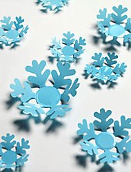 Snowflake Christmas New Year Ambience Arranged Shops And Decorative WallStickers Stickers 3D Glass Windows 12PCS