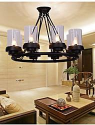 5 Lámparas Colgantes ,  Rústico/Campestre / Cosecha Pintura Característica for Mini Estilo MetalSala de estar / Dormitorio / Comedor /