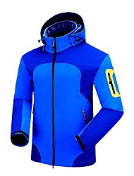 Outdoor Sports  Soft Shell Jacket Ski /Climbing Jacket Polar Fleece Jacket with Zipper for Men