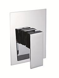 função única de bronze quente e fria única alça de chuveiro do banheiro parede súbito valor misturador torneira