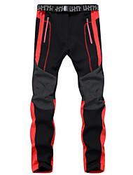 Men's Insulated Fleece Snowboard Windproof and Waterproof Pants