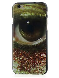un œil de haute qualité et bon disque cas de motif de prix pour iphone 6 / 6s