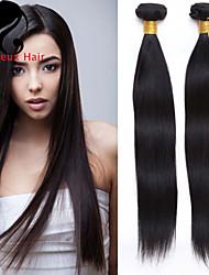 4bundles cabelo humano cabelo reto 8-26inch cabelo peruano cor natural virgem tece