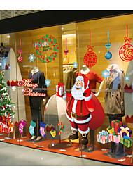 christmas decoração adesivos de parede, papel de parede removível