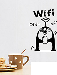 Company Restaurant Wifi Signs In Public Places Wall Stickers
