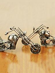 модель мотоцикла статьи обеспечения ремесленничества металла украшения (случайный цвет)