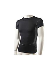 Per uomo Set di vestiti/Completi Sport Traspirante / Asciugatura rapida Nero S / M / L / XL / XXL Fitness - Altro