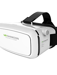 "VR Shinecon 3D Virtual Reality Glasses Head Mount Cardboard 3D Movie Game Glasses for 4.7""-6"" inch Smartphone"