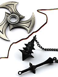 Weapon Inspired by LOL Cosplay Anime/ Video Games Cosplay Accessories Weapon Black / Silver Alloy Male / Female