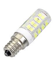7W E14 LED Mais-Birnen B 51 SMD 2835 400-500 lm Kühles Weiß Dekorativ AC 220-240 V 1 Stück