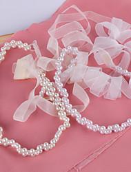 Satin Mariage / Fête/Soirée / Quotidien Ceinture-Billes / Perles Femme 200cm Billes / Perles