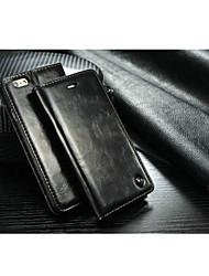 Pour Coque iPhone 7 Coques iPhone 7 Plus Coque iPhone 6 Coques iPhone 6 Plus Porte Carte Avec Support Coque Coque Intégrale CoqueCouleur