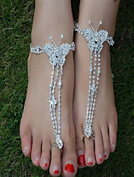 1pcs Butterfly Beach Anklets Wedding Accessories