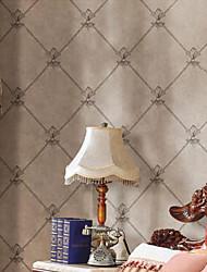 Floral Papel pintado Contemporáneo Revestimiento de pared , PVC/Vinilo 3D wallpaper