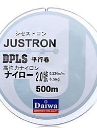 8LB/2.0#/0.235mm Daiwa 500m Nylon Fishing Line Monofilament Strong Quality