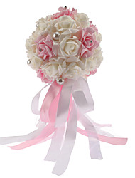 "Wedding Flowers Round Roses Bouquets Wedding Foam 7.87""(Approx.20cm)"