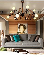5 Lámparas Araña ,  Moderno / Contemporáneo Pintura Característica for Mini Estilo / Bombilla incluida MetalSala de estar / Comedor /