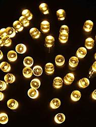 roi ro solaire Mode 39.37ft 100LED 8 décoration de Noël clignotant lumière de chaîne extérieur imperméable