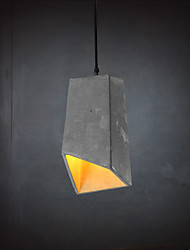 E27 220V 32*12CM 15-20㎡Contemporary And Contracted Personality Retro Cement Pendant Lamp Led Light