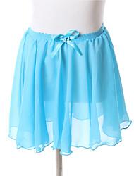 Pantalones y Faldas / Vestidos y faldas / Faldas(Fucsia / Amarillo / Lila / Uva / Azul Laguna,Gasa,Ballet / Desempeño) -Ballet / Desempeño