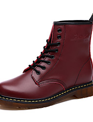 Women Leather Boots Snow Boots Ankle Boots