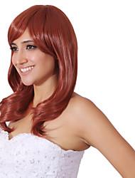 cor da mistura sem tampa peruca longa extra alta qualidade natural cabelo encaracolado sintéticas com estrondo lado