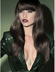 Beautiful Style Natural Color Wig Wears Women Lady  Syntheic Wig Banged