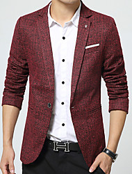 Men's 2016 New Autumn and Winter Fashion Casual Suit Jacket Dress Suit