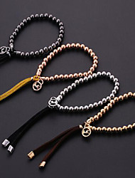 Beaded Stretch Alloy Bracelet Chain & Link Bracelets Daily / Casual 1pc