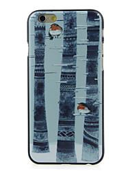 a raposa no caso duro padrão florestal para iphone 6 / 6s