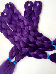 24inch Snythetic Braid  Hair  ULTRA VIOLET