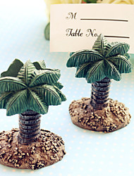 (Set Of 4) Lovely Palm Tree Place card Holder wedding decoration, Party décor