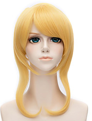 14inch lovelive Eli Ayase golden yellow Anime Cosplay Wig QY-015