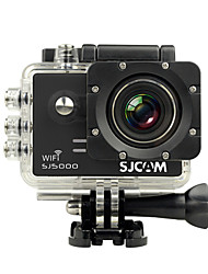 SJCAM SJ5000 WiFi Cámara acción / Cámara deporte 14MP 4000 x 3000 WIFI / Impermeable 4X ± 2 EV 2 CMOS 32 GB H.264Disparo Simple / Retardo