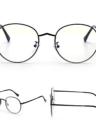 [Lentes Gratis] Unisex 's Metal Ovalada Completo llanta Clásico / Sunglass Estilo Anteojos recetados