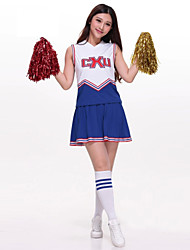 Tenue(Multicolore,Polyester,Costumes de Pom-Pom Girl Spectacle)Costumes de Pom-Pom Girl Spectacle- pourFemme Broderie SpectacleCostumes