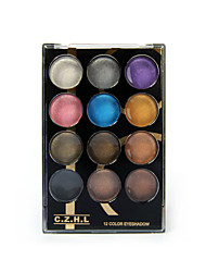 1Set The Color Of Eye Shadow Makeup Palette 12 Color Palette Nude Make-Up Durable Waterproof color