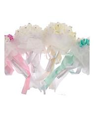 Buquês ( Rosa / Verde / Branco / Marfim , Espuma ) - de Rosas