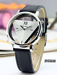 Simple Style Triangle Shape Alloy Hollow Love's Watch(Three Colors)(1Pc) Fashion Watch