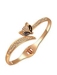 Feminino Bracelete Liga Moda Amarelo Dourado Jóias 1peça