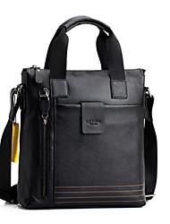 Men's Genuine Leather Messenger Shoulder Bag Crossbody Bag