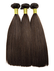 Top Super 100% Original brazilian Real Virgin Remy Human Hair for Wholesale  & Salon Use, Yaki, 110g, Double Drawn 3Pcs
